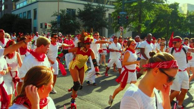 Running of the Bulls, NOLA