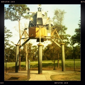 Lunar Lander, Mississippi rest stop, off of I-10